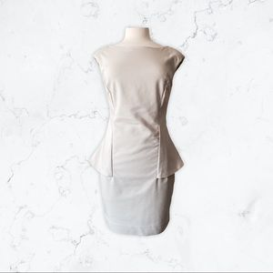 Peplum Dress for Work or Date Night